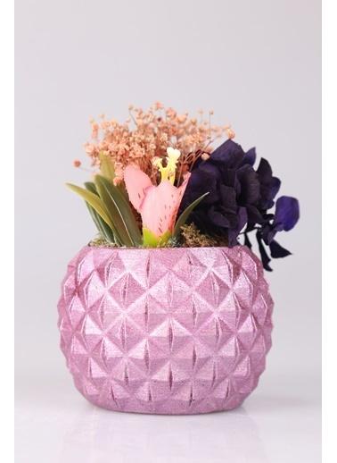 Kibrithane Çiçek Yapay Çiçek Kuru Çiçek Aranjman Kc00200733 Renkli
